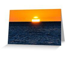 photoj S.A. Hallet Cove Sunset Greeting Card