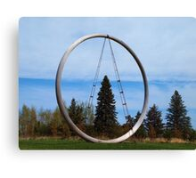 Tree In The Circle Canvas Print