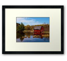 Forgotten Barn Framed Print
