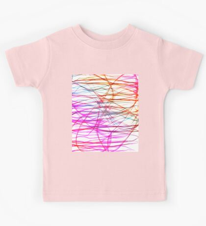 PIXEL RAINBOW Kids Tee
