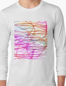 PIXEL RAINBOW Long Sleeve T-Shirt