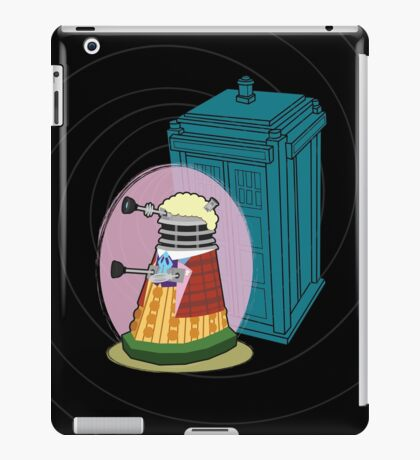 Daleks in Disguise - Sixth Doctor iPad Case/Skin