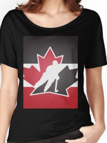 Team Canada Women's Relaxed Fit T-Shirt
