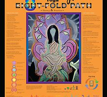 Yoga: 8-Fold Path • 2008 by Robyn Scafone