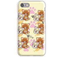 Kitty Paws ~ Rilakkuma & Korilakkuma iPhone Case/Skin