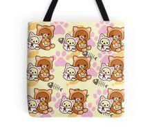 Kitty Paws ~ Rilakkuma & Korilakkuma Tote Bag