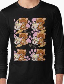 Kitty Paws ~ Rilakkuma & Korilakkuma Long Sleeve T-Shirt