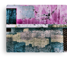 """""""All In All You're Just Another Brick In The Wall"""" Canvas Print"""