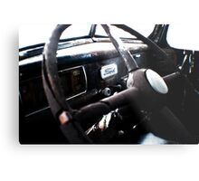 Pre-1950s Ford Interior Metal Print