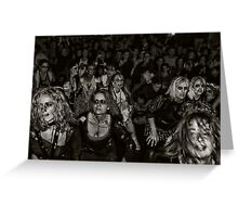 Zombies on Parade Greeting Card