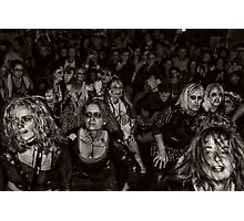 Zombies on Parade Photographic Print