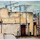 Athens Rooftops 2 by Emma Brooks-Mitrou