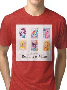Reading is magic Tri-blend T-Shirt