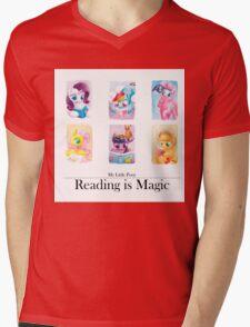 Reading is magic Mens V-Neck T-Shirt