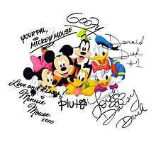 Mickey and Friends by tatiananori