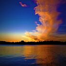 Lake Burley Griffin Sunset by Elaine Short