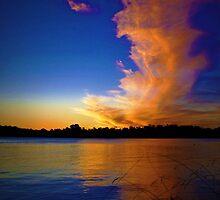 Lake Burley Griffin Sunset by Elaine Short
