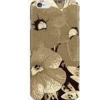Coffee screen floral iPhone Case/Skin