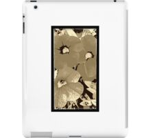 Coffee screen floral iPad Case/Skin