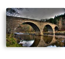 Potarch, Aberdeenshire Canvas Print