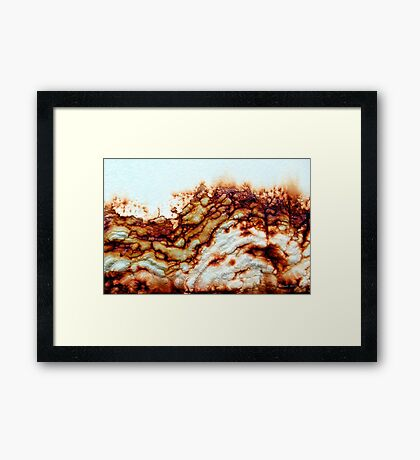 Rocky Cliffs Framed Print