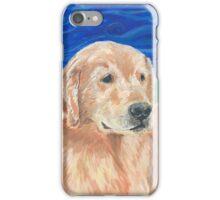 Cardi the Gold Labrador Retriever Dog iPhone Case/Skin