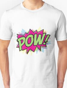Pow! Cartoon Unisex T-Shirt
