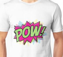 Pow! Cartoon Unisex T-Shirt
