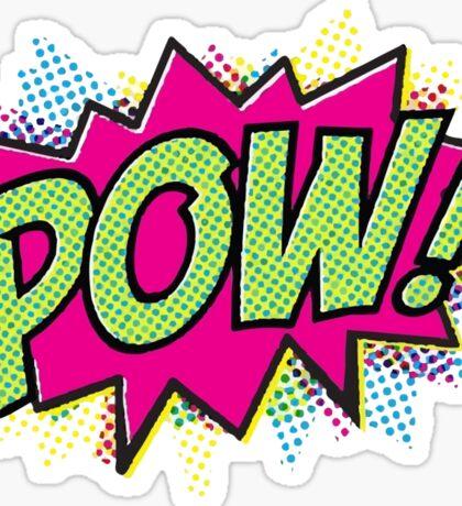 Pow! Cartoon Sticker