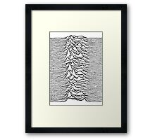 Unknown Pleasures - Joy Division Framed Print