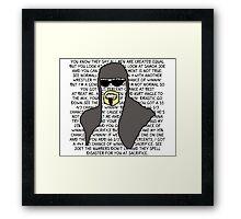 Scott Steiner Mania Framed Print