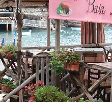 `little ristorante on the beach` by Deb Gibbons