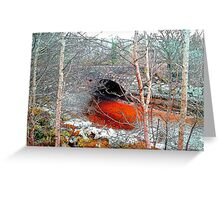 Red River - Dumfries and Galloway Greeting Card