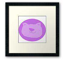 Mr. Bear Framed Print