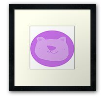 Mr. Bear Framed Print