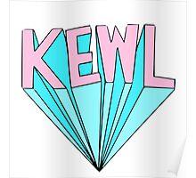 Kewl Block Poster