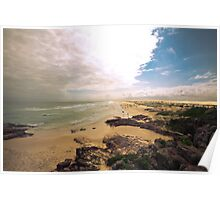 Birubi Beach Port Stephens Poster