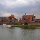 Malbork Teutonic Castle by Elena Skvortsova