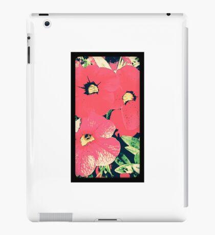 Retro screen floral  iPad Case/Skin