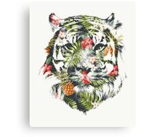 Tropical Tiger Canvas Print