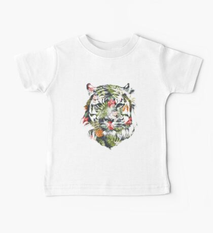 Tropical Tiger Baby Tee