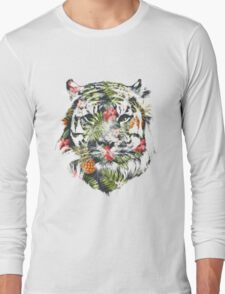 Tropical Tiger Long Sleeve T-Shirt