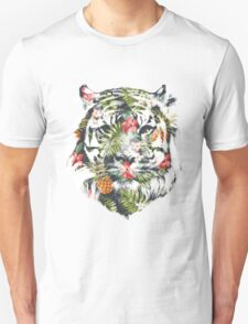 Tropical Tiger Unisex T-Shirt
