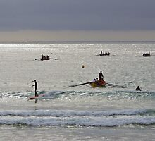 Early training at Lorne by Andy Berry