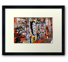 Urban Art Gallery Framed Print