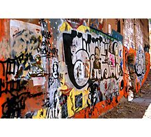 Urban Art Gallery Photographic Print