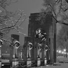 The Atlantic Theater-The World War II Memorial - Washington D.C. by Matsumoto