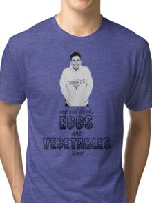 Danny's Eggy Vegetables Tri-blend T-Shirt
