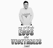 Danny's Eggy Vegetables Men's Baseball ¾ T-Shirt
