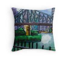 Story Bridge I Throw Pillow